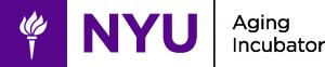 Logo for NYU Aging Incubator.