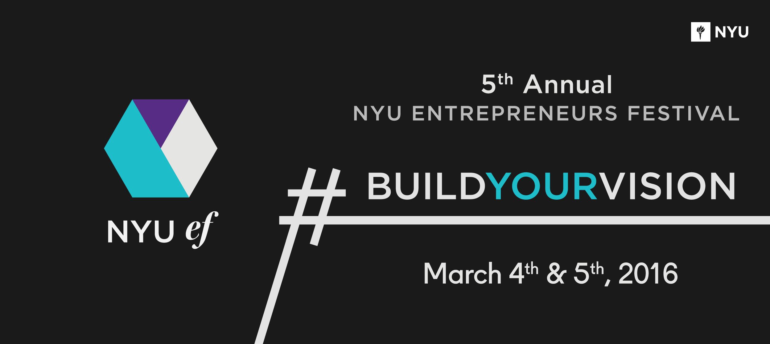 NYU Entrepreneurs Festival