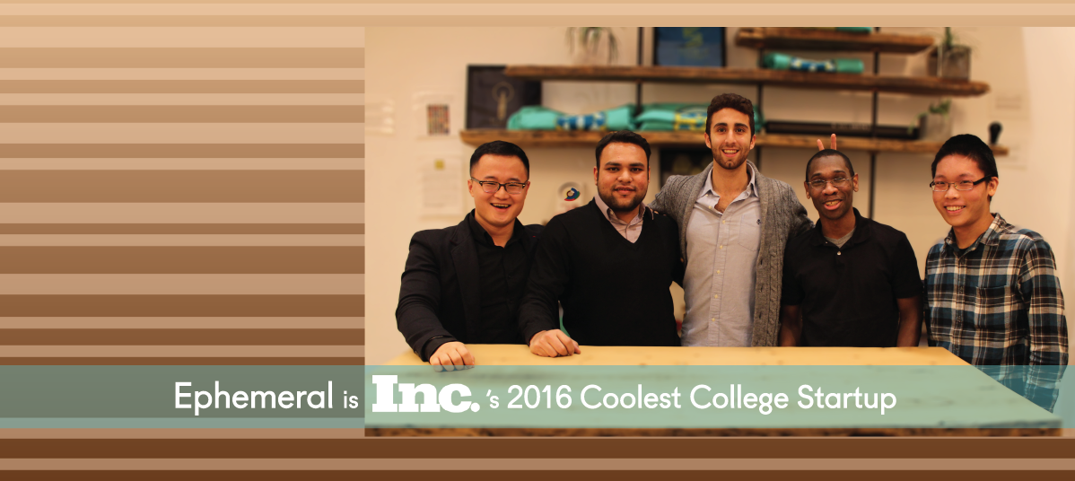 Inc.'s Coolest College Startup 2016
