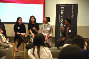 Photo of panelists during the Female Founders Symposium