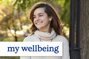 Photo and logo of My Wellbeing