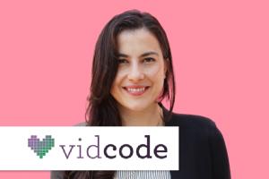 Photo and logo of vidcode