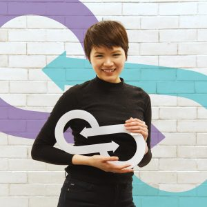 Image of Louise Lai, Co-Chair of the 2018 Entrepreneurs Festival planning committee