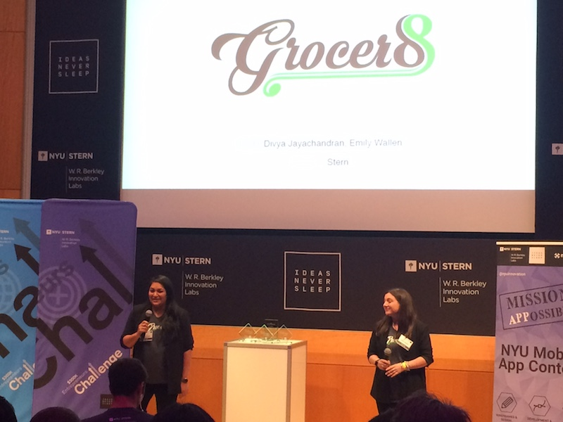 Image of Grocer8 co-founders Divya Jayachandran and Emily Wallen.