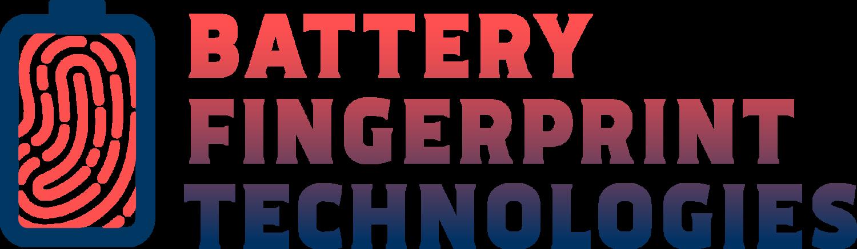 Battery Fingerprint Technologies