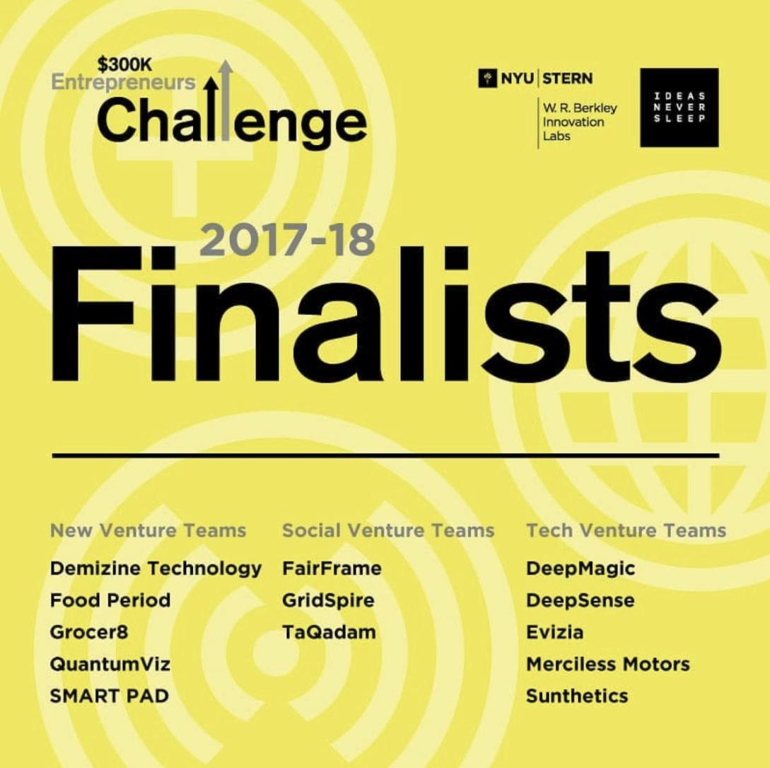 Image of $300K Entrepreneurs Challenge finalists.