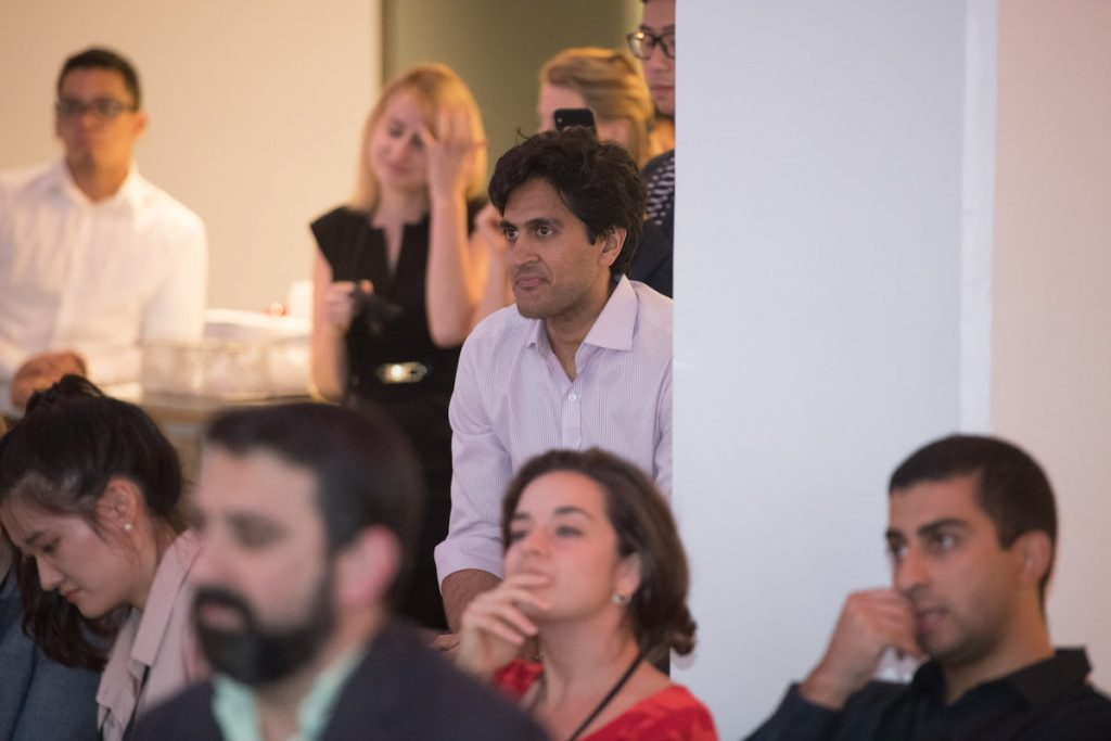 Photo from Demo Day event.