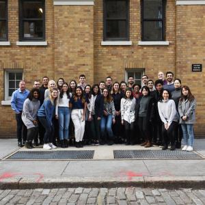 Photo of J-Term Startup Sprint cohort