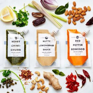 Haven's Kitchen sauces and ingredients