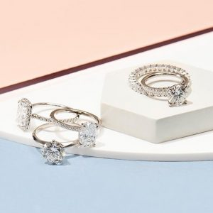 diamonds rings by The Clear Cut