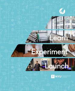 NYU Entrepreneurial Institute Annual Report 2016