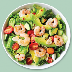 shrimp salad from chopt