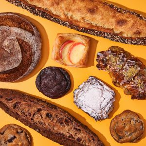 Breads and baked goods from Partybus bakeshop