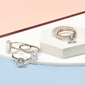 diamond rings from The Clear Cut